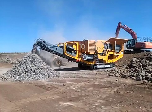 Striker JQ1170 Mobile Jaw Crusher 4