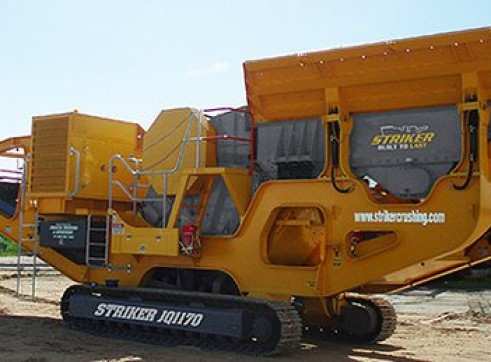 Striker JQ1170 Mobile Jaw Crusher 2