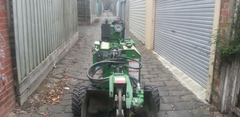 Stump grinding 2