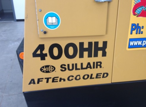 Sullair 400 CFM @ 200 PSI After Cooled Portable Compressor 2
