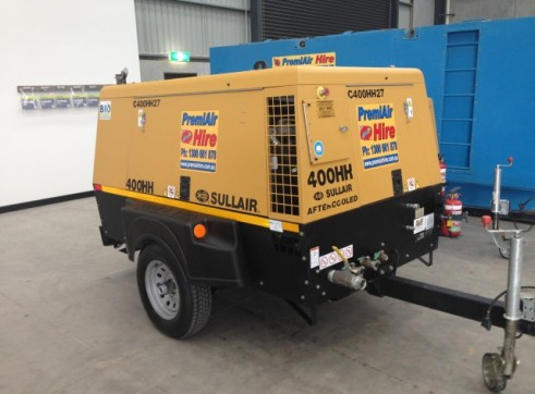 Sullair 400 CFM @ 200 PSI After Cooled Portable Compressor 1