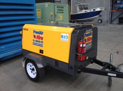 Sullair 400 CFM @ 200 PSI After Cooled Portable Compressor 3