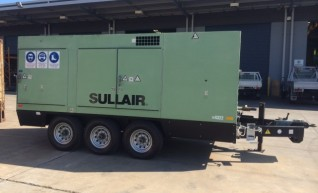 Sullair Dual Capacity Portable Compressor-Roma 1