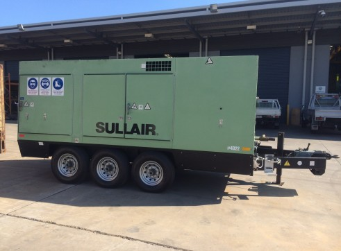 Sullair Dual Capacity Portable Compressor 1