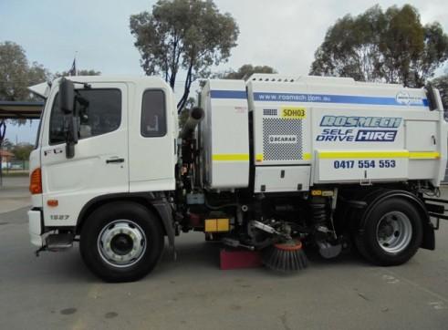 Street Sweeper Truck 4