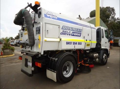 Street Sweeper Truck 7