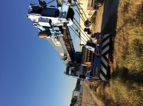 Tadano TR250m-6 hydrulic rough terrain crane  1