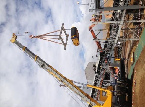Tadano TR500e hydrulic rough terrain crane  2