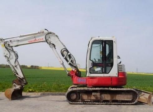 Takeuchi TB138 3T Excavator - Zero Swing