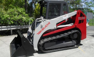 Takeuchi TL240 Tracked Skid Steer 1