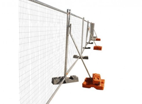 Temporary Fencing Support Brace 1