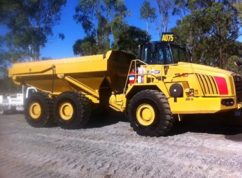 Terex 40T dump trucks 1
