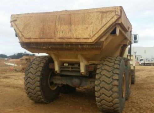 Terex articulated moxy 4