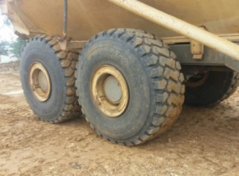 Terex articulated moxy 5