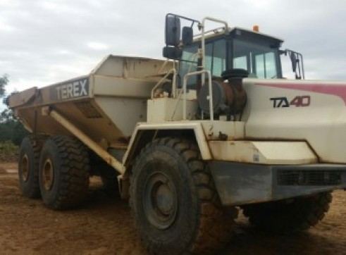 Terex articulated moxy 6