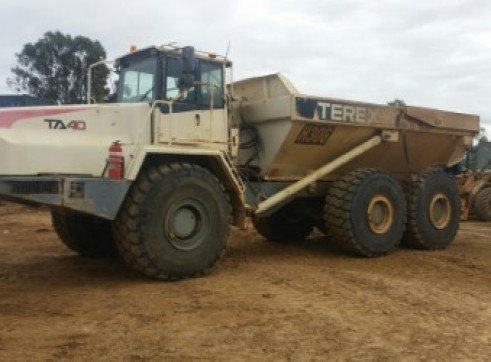 Terex articulated moxy 7