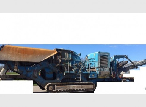 Terex Pegson Jaw Crusher 1