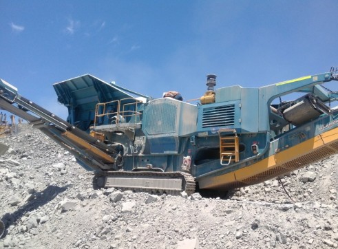 Terex Pegson XA750 Mobile Jaw Crusher 1