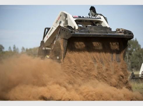 Terex PT100G Tracked Skid Steer Loader FORESTRY 2