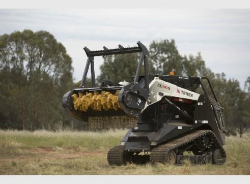 Terex PT100G Tracked Skid Steer Loader FORESTRY 3
