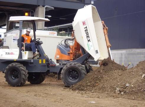 TEREX Site Dumper 6 Tonne 1