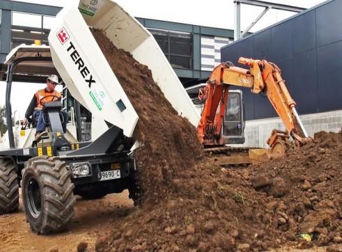 TEREX Site Dumper 6 Tonne 2