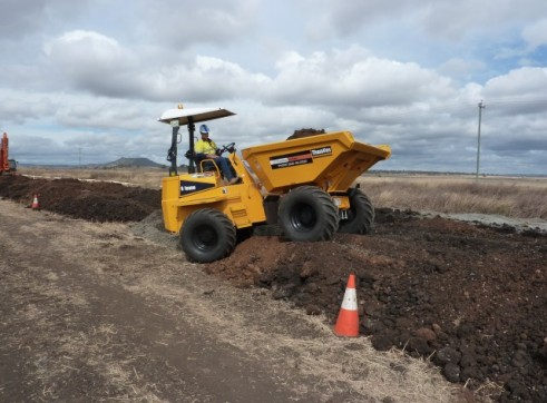Thwaites 9 Tonne Site Dumper 4