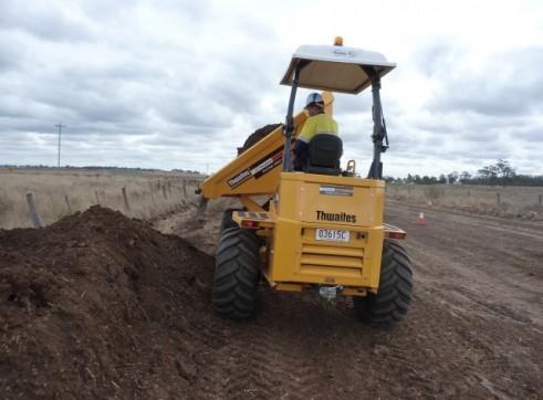 Thwaites 9 Tonne Site Dumper 2