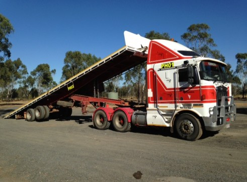 Tilt Tray Semi 45ft 1