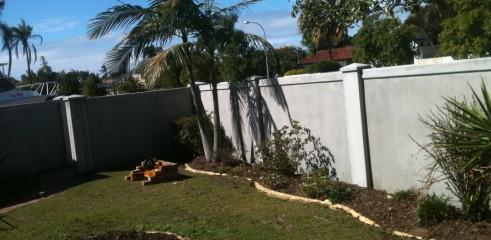 Tilt-Up Fence Installation 1