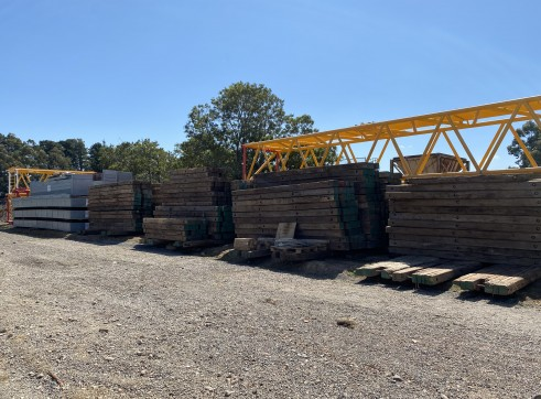 Timber Crane Matts for Hire 1