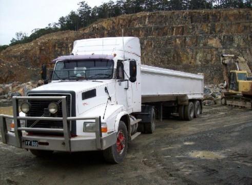 Tipper 18 tonne Semi trailer