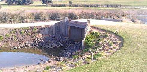 Torquay Golf Course Bridge Construction 1