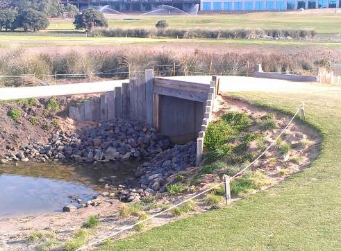 Torquay Golf Course Bridge Construction
