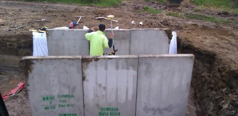 Torquay Golf Course Bridge Construction 3