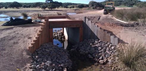 Torquay Golf Course Bridge Construction 7