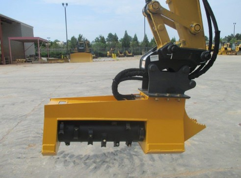 Torrent Mulching Head - suit 5T excavator 1