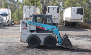 Toyota SDK8 Skid Steer Dry hire 1