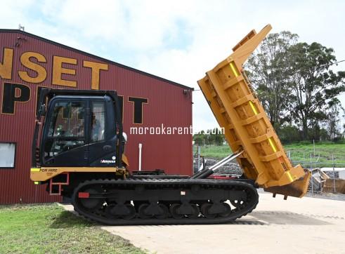 Morooka MST2200VD Rubber Tracked Dumper 10t 10