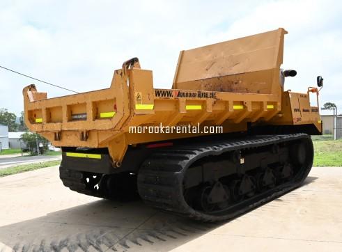 Morooka MST2200VD Rubber Tracked Dumper 10t 4