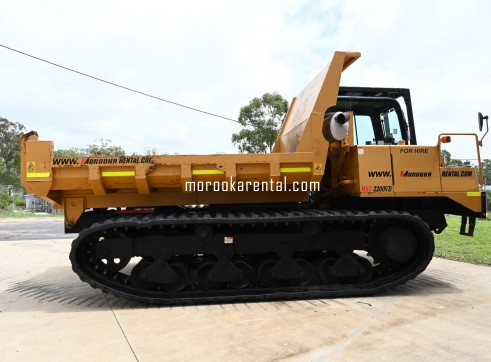 Morooka MST2200VD Rubber Tracked Dumper 10t 5