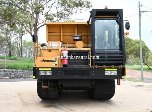 Morooka MST2200VD Rubber Tracked Dumper 10t 7