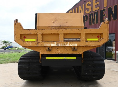 Morooka MST2200VD Rubber Tracked Dumper 10t 8