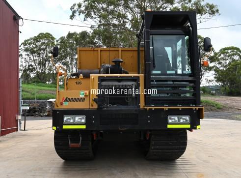 Morooka MST1500VD Rubber Tracked Dumper 6.3t 1