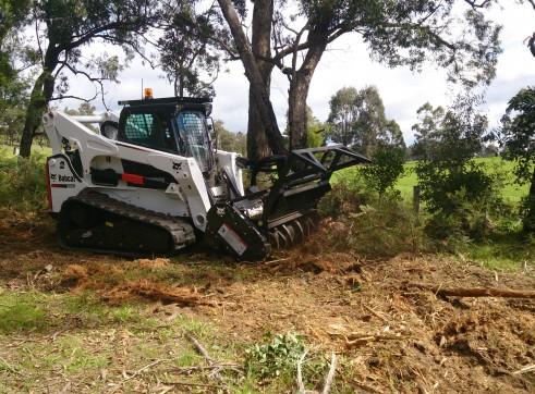 Tracked Forestry Mulcher 1