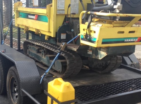 Tracked ride on dumper (3 way tip)  1