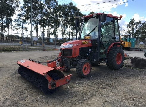 Tractor Broom Sweeper 2