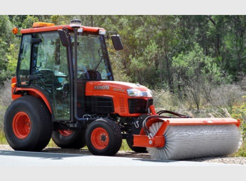 Tractor Broom Sweeper 4