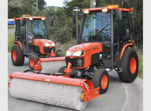 Tractor Broom Sweeper 1