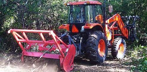 Tractor Mulching/Mulch 1